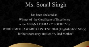 Wordsmith award