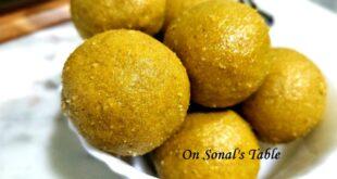 Besan (gram flour) laddus