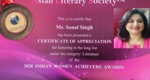 Women achiever's award